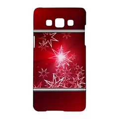 Christmas Candles Christmas Card Samsung Galaxy A5 Hardshell Case