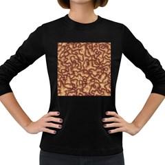 Brain Mass Brain Mass Coils Women s Long Sleeve Dark T Shirts