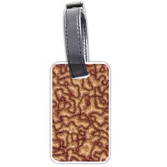 Brain Mass Brain Mass Coils Luggage Tags (two Sides)