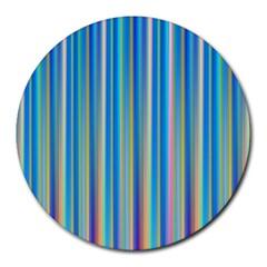Colorful Color Arrangement Round Mousepads