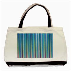 Colorful Color Arrangement Basic Tote Bag