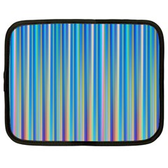 Colorful Color Arrangement Netbook Case (large)