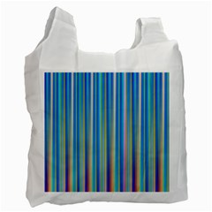 Colorful Color Arrangement Recycle Bag (two Side)