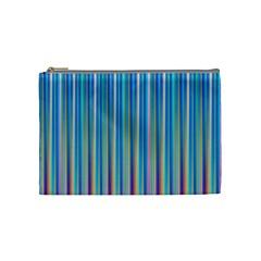 Colorful Color Arrangement Cosmetic Bag (medium)
