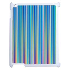 Colorful Color Arrangement Apple Ipad 2 Case (white)