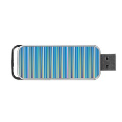 Colorful Color Arrangement Portable Usb Flash (two Sides)