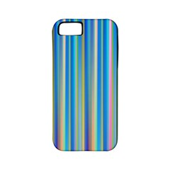 Colorful Color Arrangement Apple Iphone 5 Classic Hardshell Case (pc+silicone)