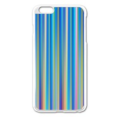 Colorful Color Arrangement Apple Iphone 6 Plus/6s Plus Enamel White Case