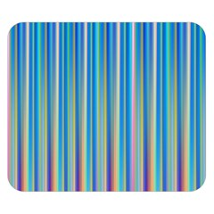 Colorful Color Arrangement Double Sided Flano Blanket (small)