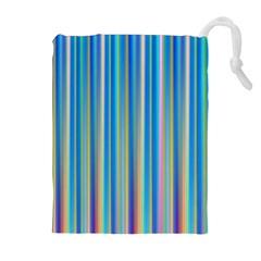 Colorful Color Arrangement Drawstring Pouches (extra Large)