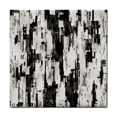 Pattern Structure Background Dirty Tile Coasters