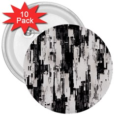 Pattern Structure Background Dirty 3  Buttons (10 Pack)