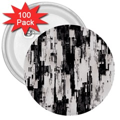 Pattern Structure Background Dirty 3  Buttons (100 Pack)