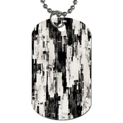 Pattern Structure Background Dirty Dog Tag (two Sides)