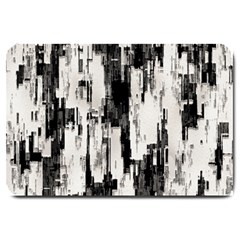 Pattern Structure Background Dirty Large Doormat