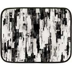 Pattern Structure Background Dirty Double Sided Fleece Blanket (mini)