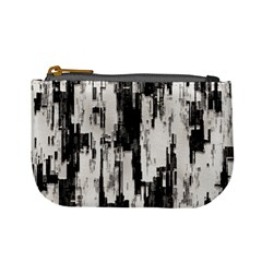 Pattern Structure Background Dirty Mini Coin Purses