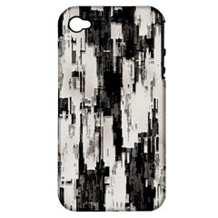 Pattern Structure Background Dirty Apple Iphone 4/4s Hardshell Case (pc+silicone)