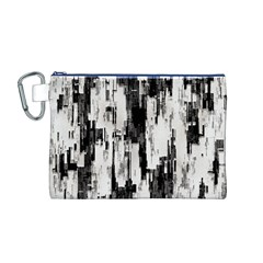Pattern Structure Background Dirty Canvas Cosmetic Bag (m)