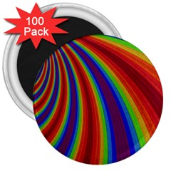 Abstract Pattern Lines Wave 3  Magnets (100 Pack)