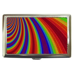 Abstract Pattern Lines Wave Cigarette Money Cases
