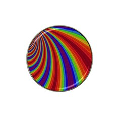 Abstract Pattern Lines Wave Hat Clip Ball Marker