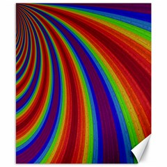Abstract Pattern Lines Wave Canvas 8  X 10