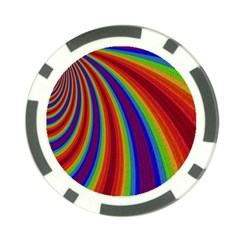 Abstract Pattern Lines Wave Poker Chip Card Guard