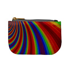 Abstract Pattern Lines Wave Mini Coin Purses