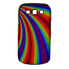Abstract Pattern Lines Wave Samsung Galaxy S Iii Classic Hardshell Case (pc+silicone)