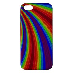 Abstract Pattern Lines Wave Apple Iphone 5 Premium Hardshell Case
