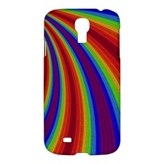 Abstract Pattern Lines Wave Samsung Galaxy S4 I9500/i9505 Hardshell Case