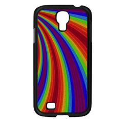 Abstract Pattern Lines Wave Samsung Galaxy S4 I9500/ I9505 Case (black)