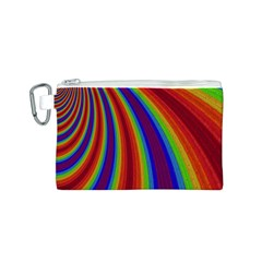 Abstract Pattern Lines Wave Canvas Cosmetic Bag (s)