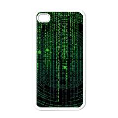 Matrix Communication Software Pc Apple Iphone 4 Case (white)