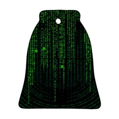Matrix Communication Software Pc Bell Ornament (two Sides)