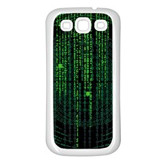 Matrix Communication Software Pc Samsung Galaxy S3 Back Case (white)
