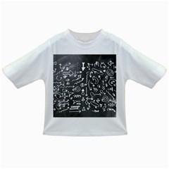 Arrows Board School Blackboard Infant/toddler T Shirts