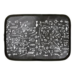 Arrows Board School Blackboard Netbook Case (medium)