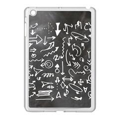 Arrows Board School Blackboard Apple Ipad Mini Case (white)