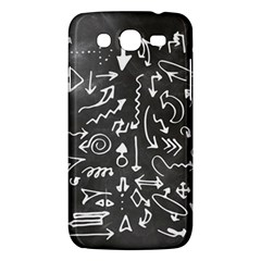Arrows Board School Blackboard Samsung Galaxy Mega 5 8 I9152 Hardshell Case