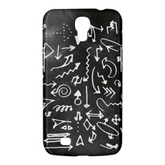 Arrows Board School Blackboard Samsung Galaxy Mega 6 3  I9200 Hardshell Case