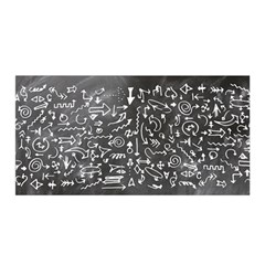Arrows Board School Blackboard Satin Wrap
