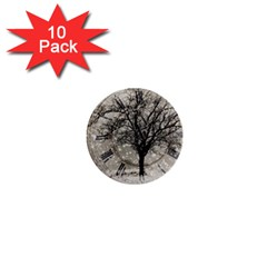 Snow Snowfall New Year S Day 1  Mini Buttons (10 Pack)