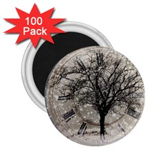 Snow Snowfall New Year S Day 2 25  Magnets (100 Pack)