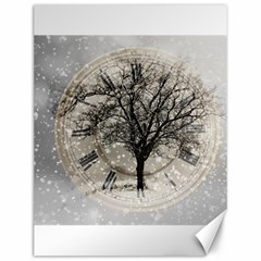 Snow Snowfall New Year S Day Canvas 12  X 16