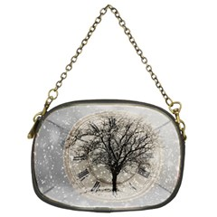 Snow Snowfall New Year S Day Chain Purses (two Sides)