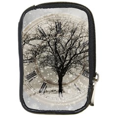 Snow Snowfall New Year S Day Compact Camera Cases