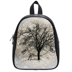 Snow Snowfall New Year S Day School Bag (small)