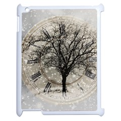 Snow Snowfall New Year S Day Apple Ipad 2 Case (white)